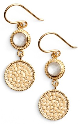 Women's Anna Beck Semiprecious Stone Double Drop Earrings $185 thestylecure.com