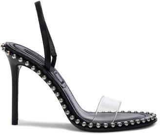 Alexander Wang Leather Nova Sandals