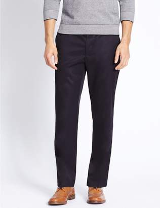 Marks and Spencer Tailored Fit Pure Cotton Chinos