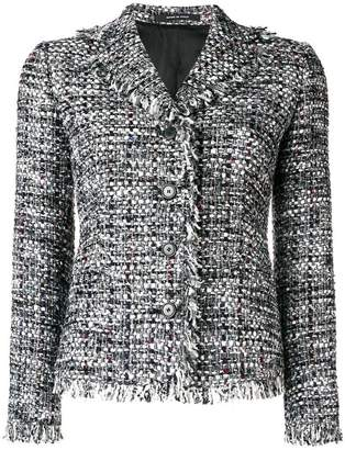 Tagliatore structured tweed jacket
