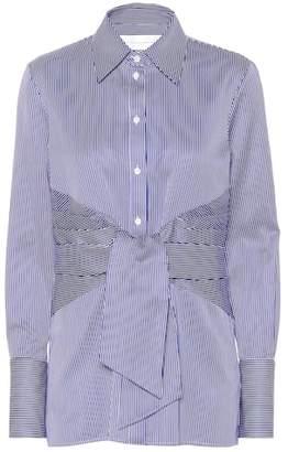 4d963ff0757f0d Victoria Victoria Beckham Striped cotton shirt