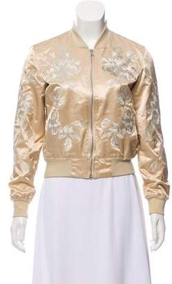 3x1 Embroidered Bomber Jacket