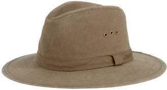 San Diego Hat Company Distressed Canvas Fedora
