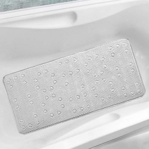 Rebrilliant Antibacterial Cushioned Waffle Non Slip Bath Tub Mat