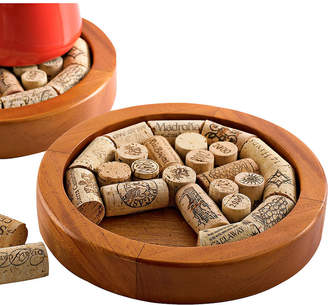 WINE ENTHUSIAST Wine Enthusiast Round Wine Cork Trivet Kit