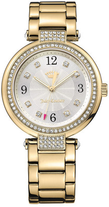 Juicy Couture Women's Sienna Crystal Bracelet Watch $225 thestylecure.com