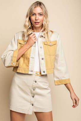 Gilli Colorblock Denim Jacket