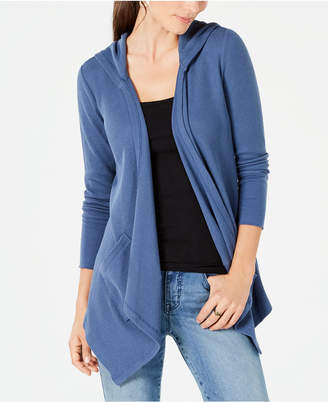 Style&Co. Style & Co Long-Sleeve Drape-Front Cardigan
