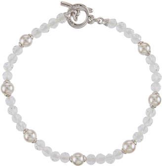 Majorica Pearl & Crystal Bracelet, 5mm