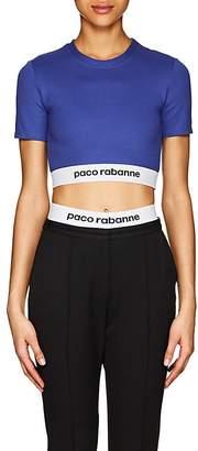 Paco Rabanne Women's Logo Crop Top