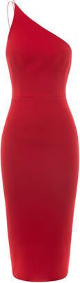 Alex Perry Rumer One Shoulder Midi Dress