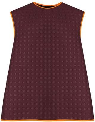 Namacheko contrast-trim embossed vest
