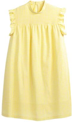 La Redoute COLLECTIONS Ruffled Gingham Babydoll Dress