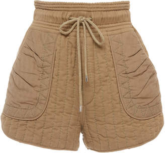 Sea Romy cotton quilted shorts