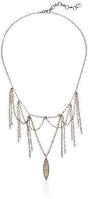 Lucky Brand Women's Fringe Collar Necklace