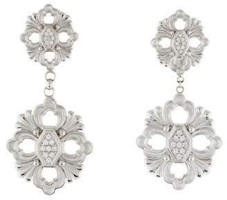 Buccellati 18K Diamond Opera Earrings