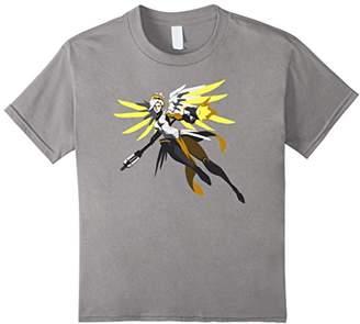 Overwatch Mercy Battle Ready Spray Tee Shirt