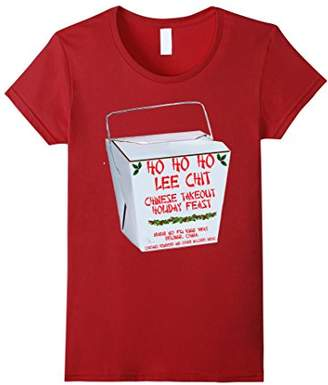 Lee Funny Christmas Holiday Ho Chit Chinese Food T-Shirt