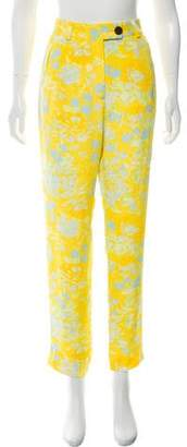 Creatures of Comfort High-Rise Printed Pants