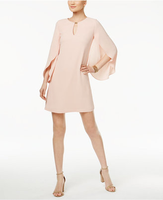 Jessica Simpson Tulip-Sleeve Keyhole Shift Dress $98 thestylecure.com