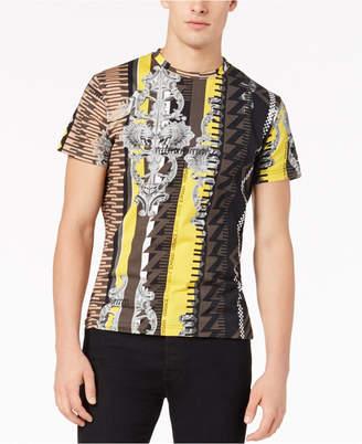 Versace Men's Baroque Geo-Print T-Shirt