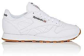 Reebok Men's Leather Classic Low-Top Sneakers-White