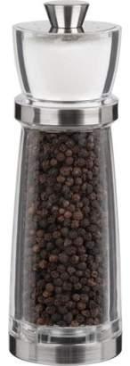 "Trudeau Maison Juliana Pepper Mill & Salt Shaker Combo 7""-Stainless Steel & Clear"