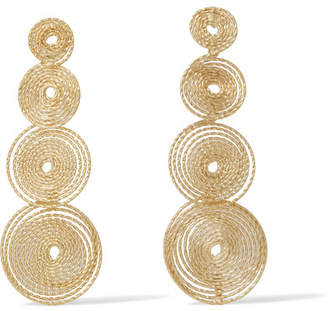 Rosantica Soffio Gold-tone Earrings - One size