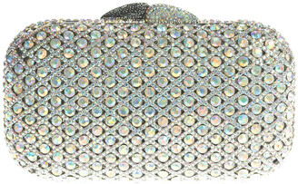 Swarovski The Nude Face Crystal Jj Clutch