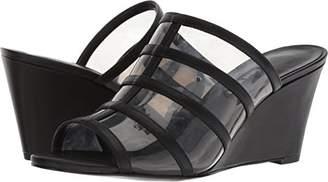 Nine West Women's Jesty Synthetic Wedge Sandal