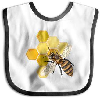 Bumble Bee Pign Unisex Baby Bandana Drool Bibs Bumblebee Cotton Neck Saliva Adjustable Towel Toddler For Girls Boys