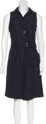 Armani Collezioni Sleeveless Knee-Length Dress