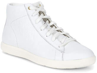 Cole Haan Grand Crosscourt Leather Hi-Top Sneakers