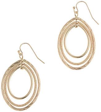 Anne Klein Pierced Small Oval Hoop Earring