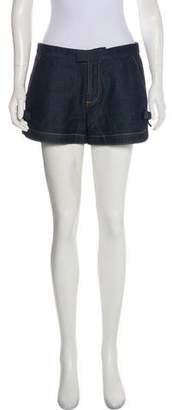 RED Valentino Bow-Accented Mini Shorts