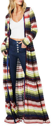 Ramy Brook Amretha Knit Duster Dress