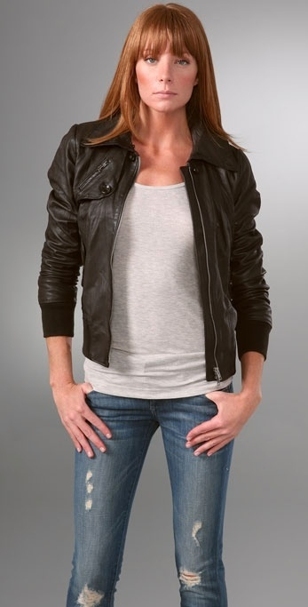 S.w.o.r.d Barletta Leather Jacket