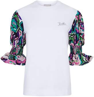Emilio Pucci Smock Sleeve T-Shirt