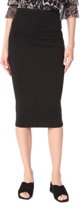 Fuzzi Midi Skirt $195 thestylecure.com