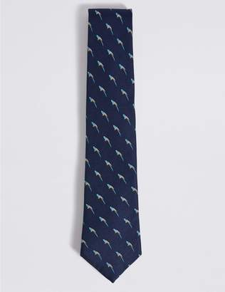 Marks and Spencer Pure Silk Novelty Tie