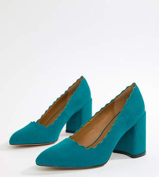 Qupid Pointed Block Heels