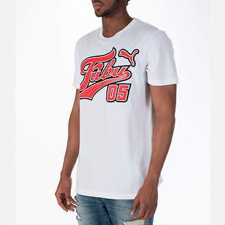 Puma Men's x Fubu Logo T-Shirt