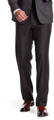 JB Britches Flat Front Wool Trousers