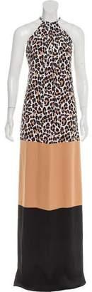 Michael Kors Colorblock Maxi Dress