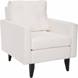 Safavieh Caleb Mid Century Modern Upholstered Club Chair