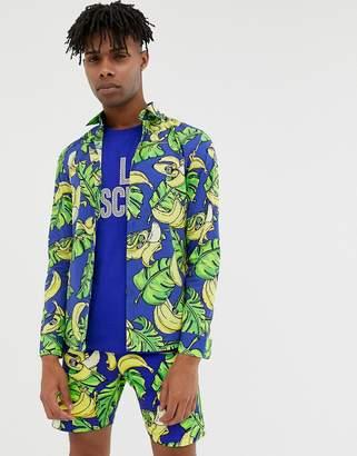 Love Moschino banana print shirt