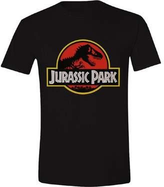 Jurassic Park Men's Classic Logo Regular Fit Short Sleeve T-Shirt