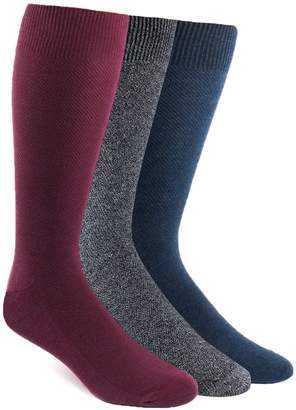 The Tie Bar Solid Texture Sock Pack
