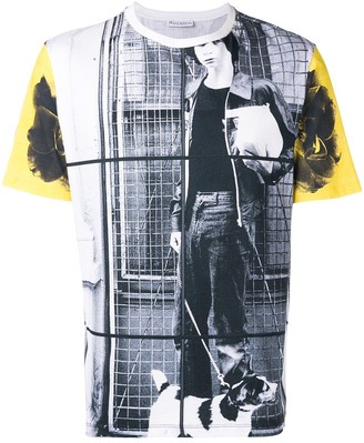 J.W.Anderson Gilbert & George dog boy allover print t-shirt