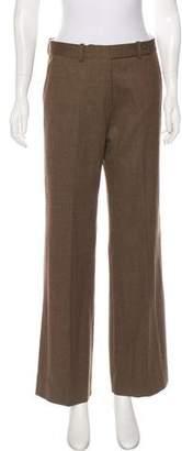 Loro Piana Wool Mid-Rise Pants